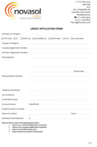 Novasol-Credit-Application-1