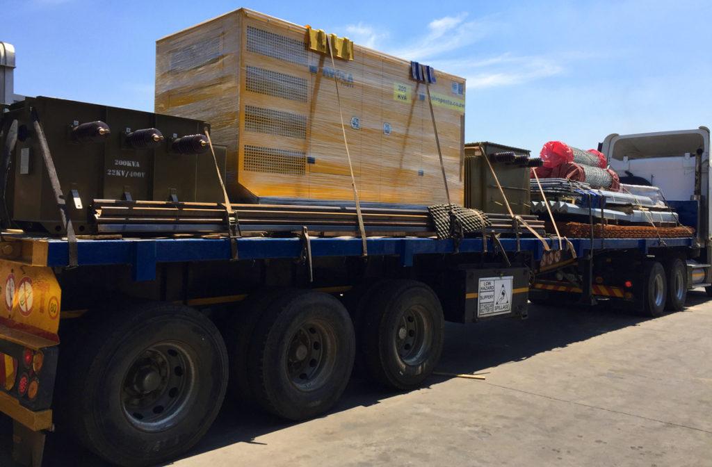 Namibia logistics